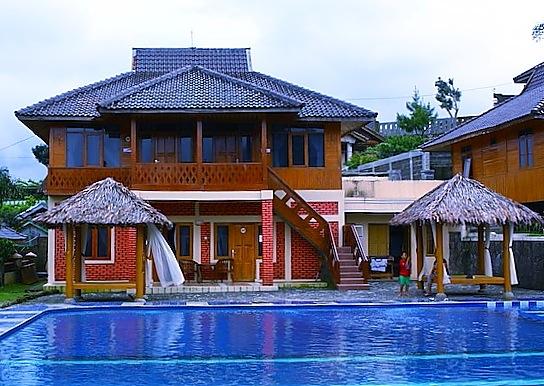Kampung Strawberry at Ciwidey West Java