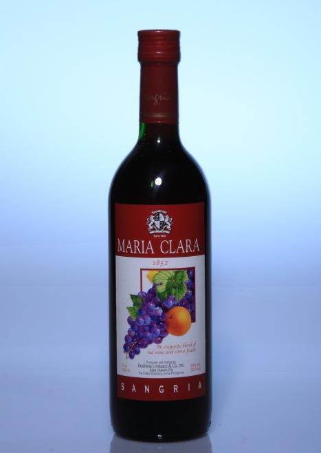 Maria Clara Sangria Red Wine
