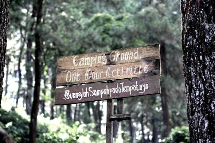 Mongolian Camp at Curug Nangka Bogor (4/6)
