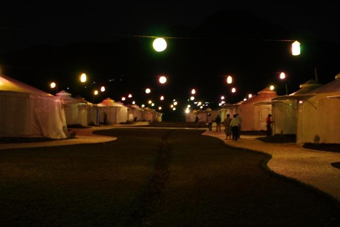 Mongolian Camp at Curug Nangka Bogor (3/6)