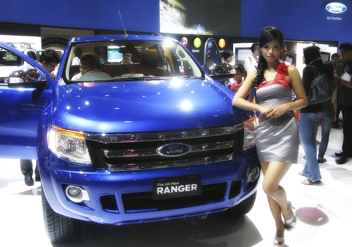Ford Booth at IIMS 2012 (1/2)