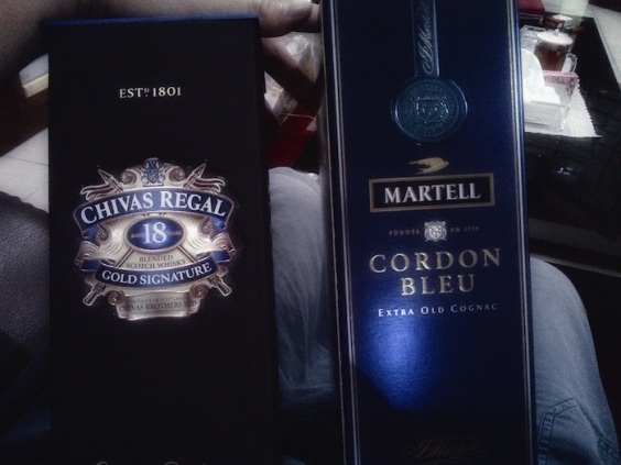 Chivas Regal and Martell 01