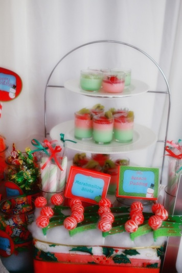 Christmas Dessert Table 22