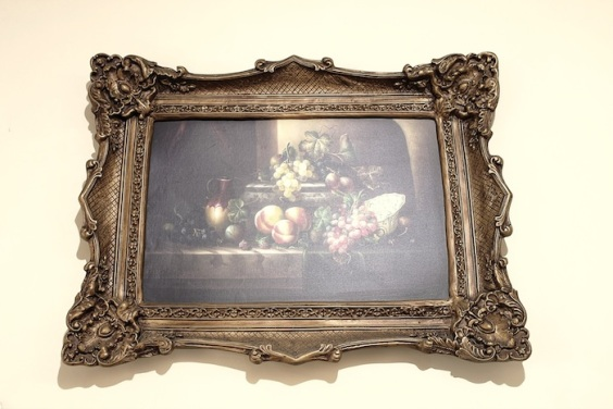 Frame Fruits Painting