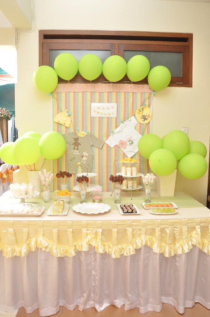 javanese baby shower dessert table efrata denny
