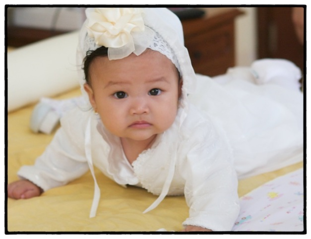Baby in White