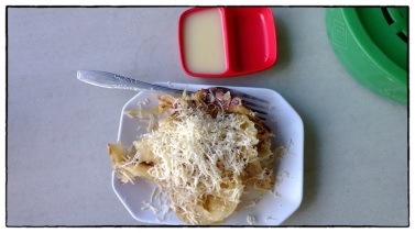 Roti Canai with Cheese