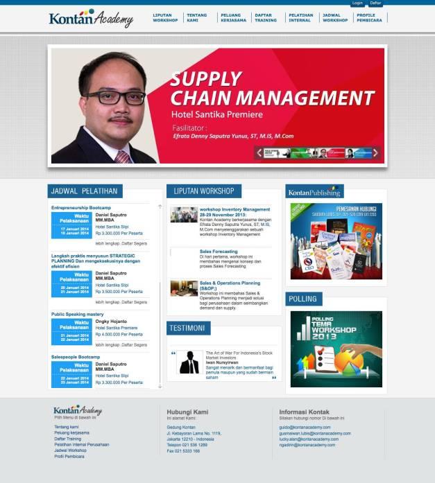 supply chain management training efrata denny. Black Bedroom Furniture Sets. Home Design Ideas
