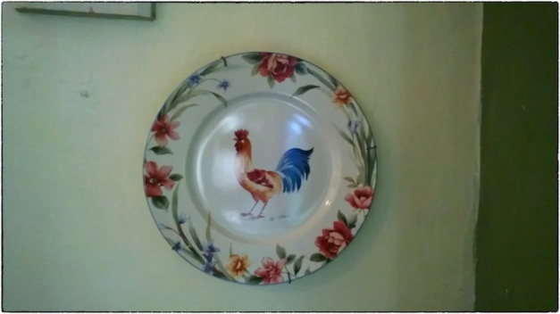 Plate on Wall