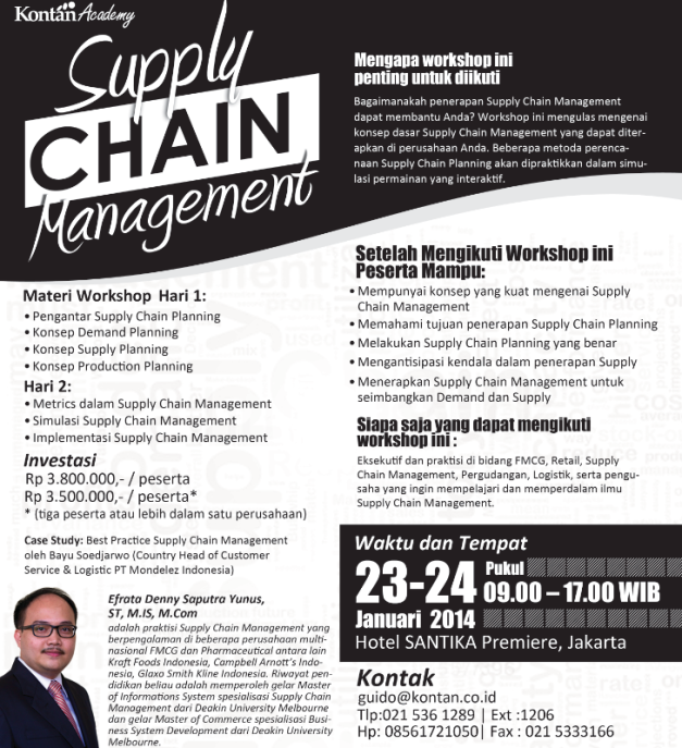 Supply Chain Management Workshop