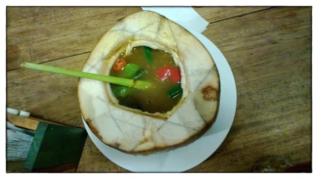 Soup in Coconut