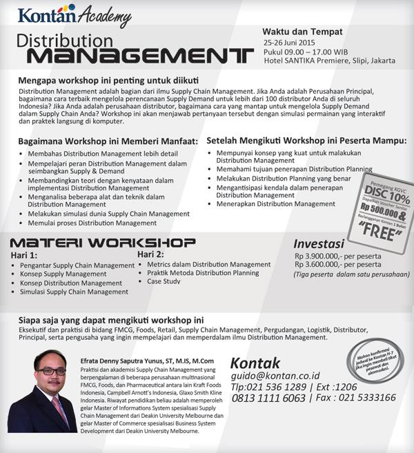 Distribution Management Juni 2015