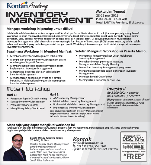 Inventory Management May 2015